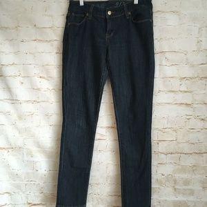 The Limited Dark Wash Denim Skinny Jeans